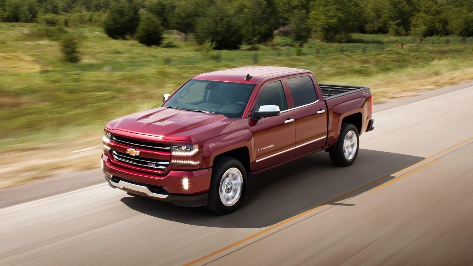 2016 Chevrolet Silverado 1500 red exterior