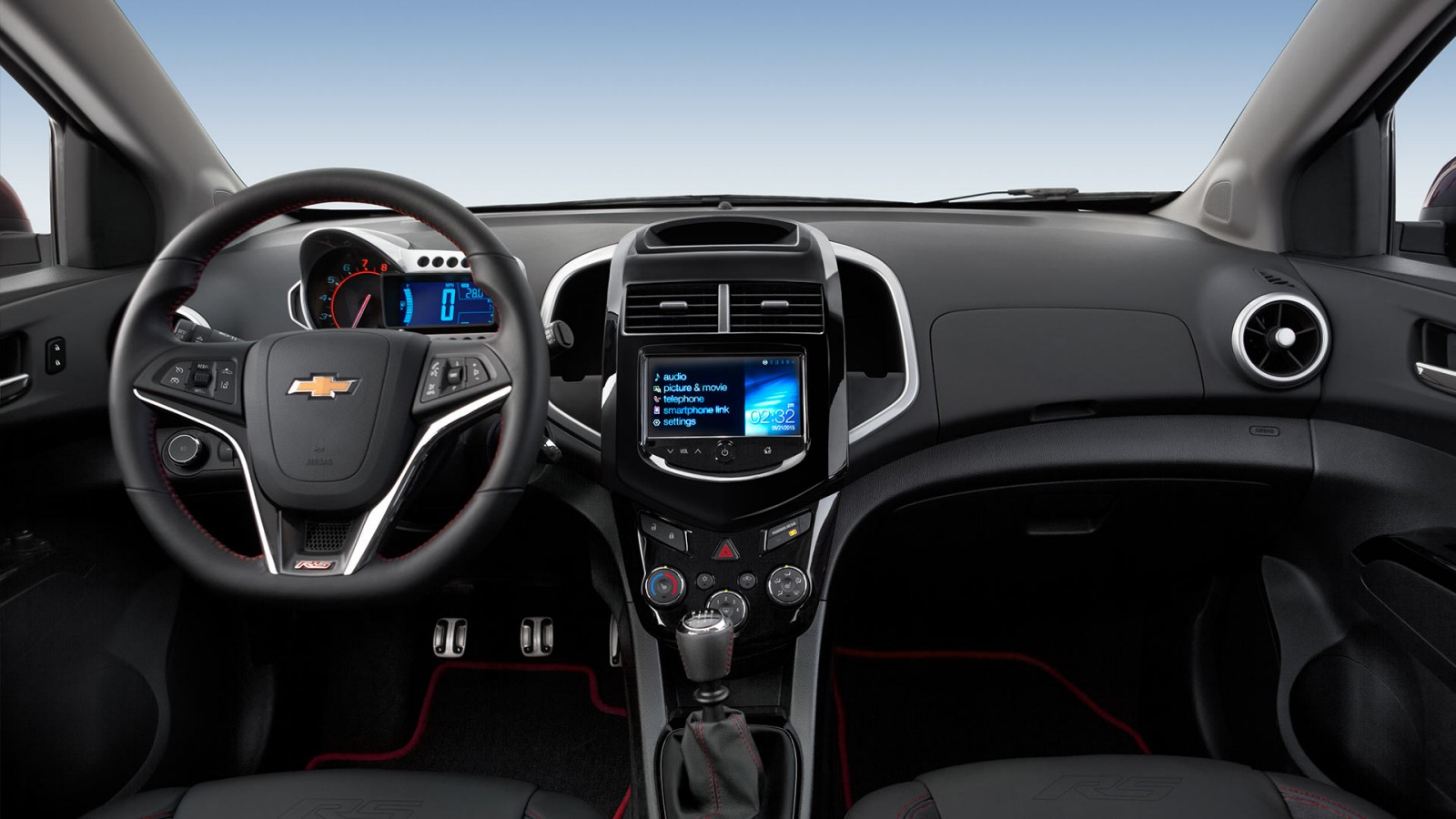 2016 chevrolet sonic interior features