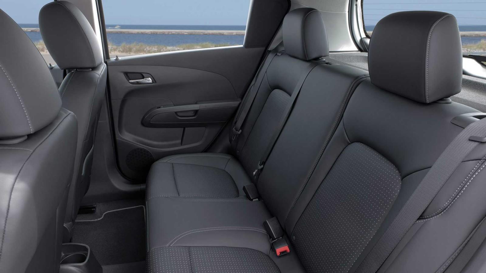 2016 Chevrolet Sonic interior passenger space