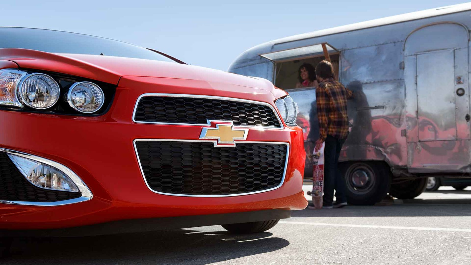 2016 Chevrolet Sonic front exterior up close