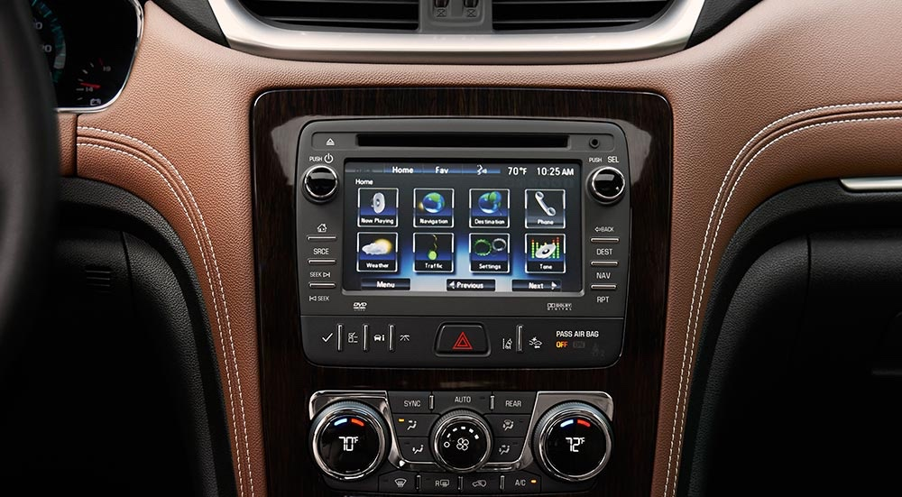 2016 Chevrolet Traverse Technology Features