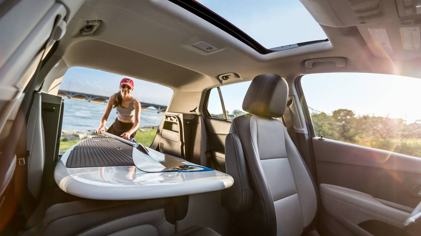 2016 Chevrolet Trax Interior Capacity