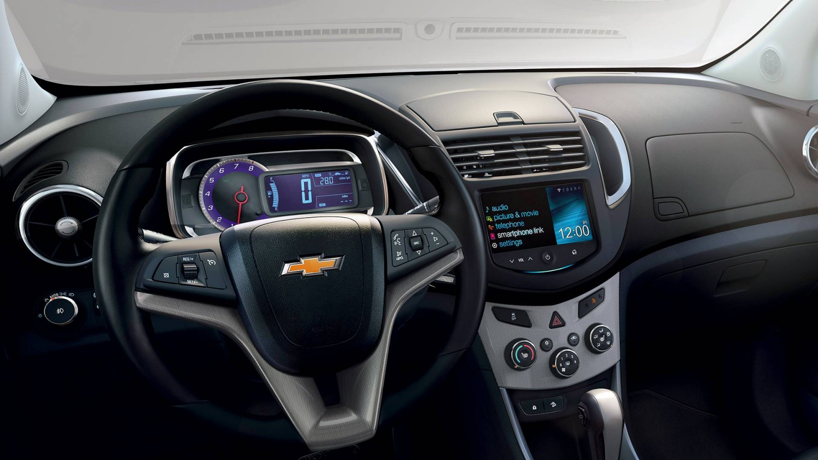 2016 Chevy Trax interior features