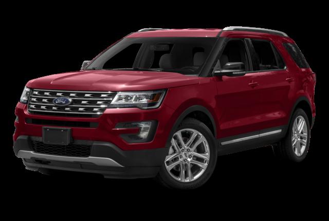2016 Ford Explorer red exterior