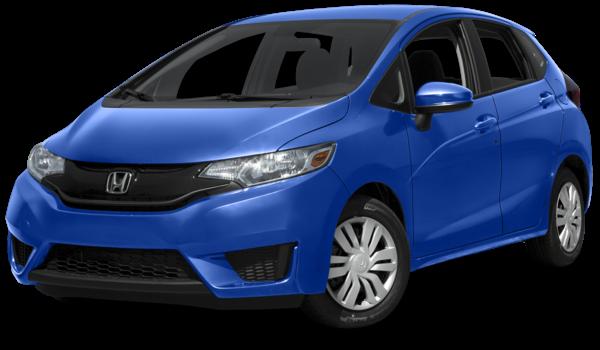 2016 Honda Fit LX CVT blue exterior