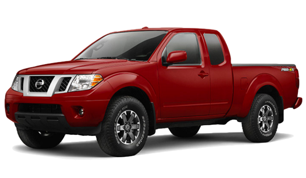 Red 2016 Nissan Frontier