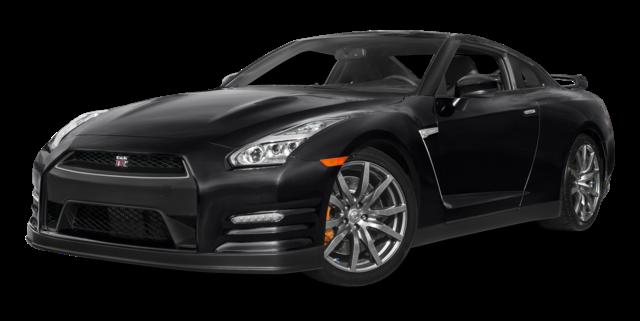 2016 Nissan GT-R black exterior