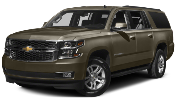 2016 Chevrolet Suburban white background