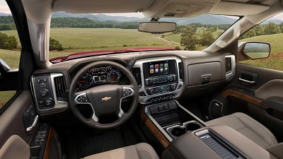2016 Chevy Silverado 2500HD Interior