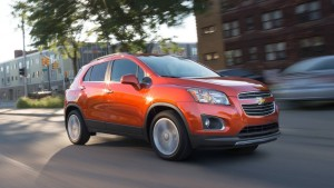 2016 Chevy Trax Driving