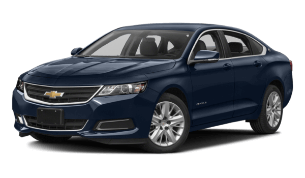 2017 Chevrolet Impala dark blue exterior model