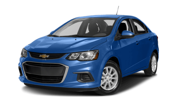2017 Chevorlet Sonic blue exterior model