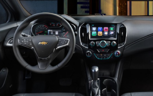 2016 Chevrolet Cruze interior Interior Spacious