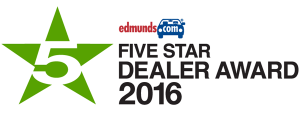 2016 Five Star Dealer Awards
