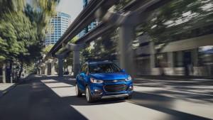 2017 Chevrolet Trax blue exterior model