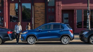 2017 Chevrolet Trax side view