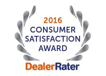 2016 Dealer Rater Award Sunrise Chevrolet