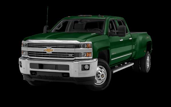 2016 Chevrolet Silverado 3500 green exterior