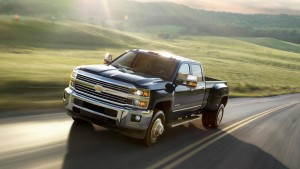 2016 Chevy Silverado 3500 driving
