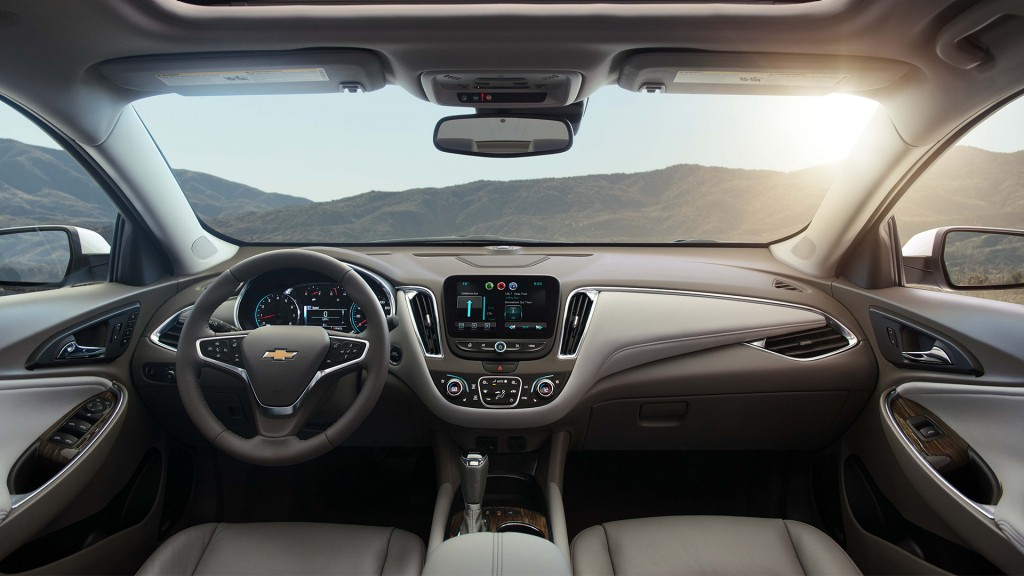 2016 Chevrolet Malibu Front Interior