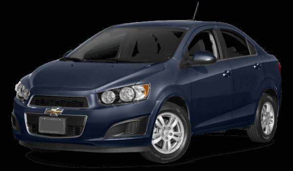 2016 Chevrolet Sonic blue exterior