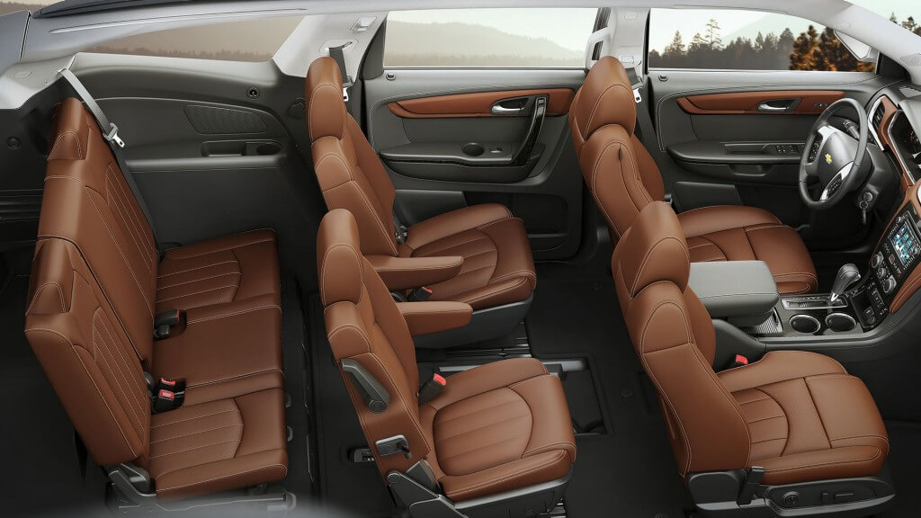 2017 Chevrolet Traverse interior seating