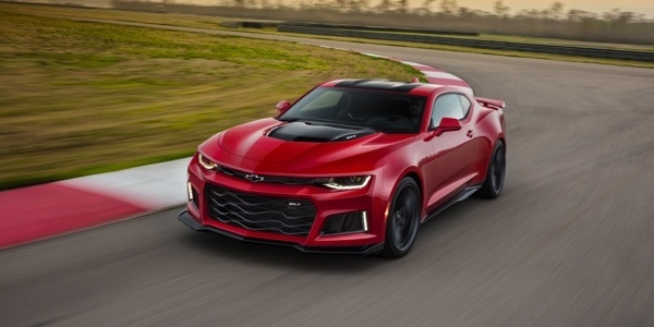 2017 Chevrolet Camaro red exterior