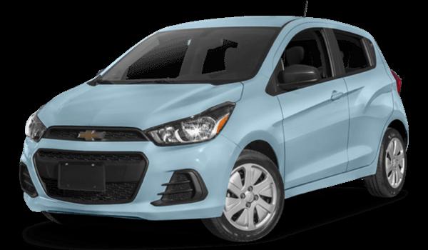 2016 Chevrolet Spark light blue exterior