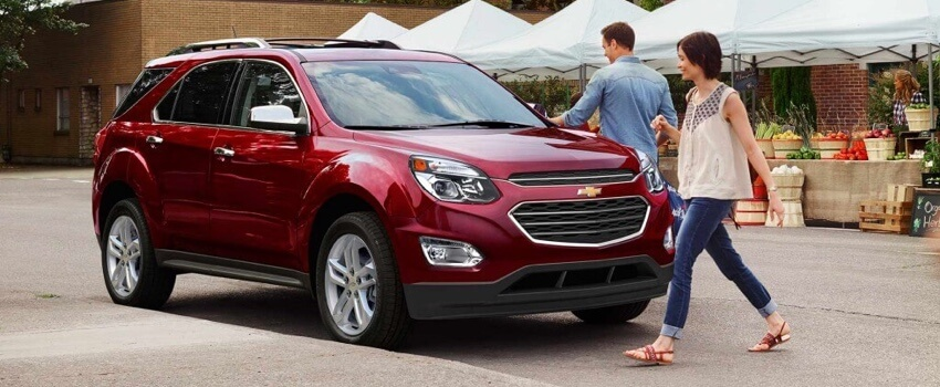 2017 Chevrolet Equinox Red Exterior