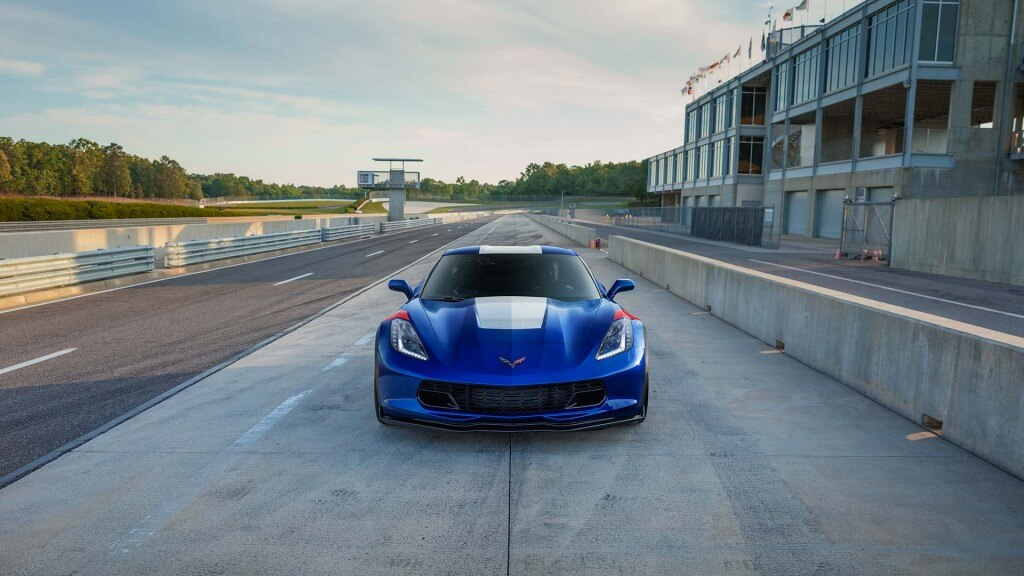 2017 Chevrolet Corvette Grand Sport Price front view
