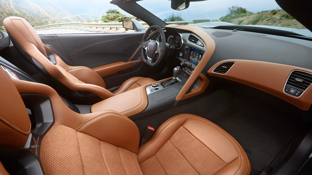 2017 Chevrolet Corvette Stingray interior seating