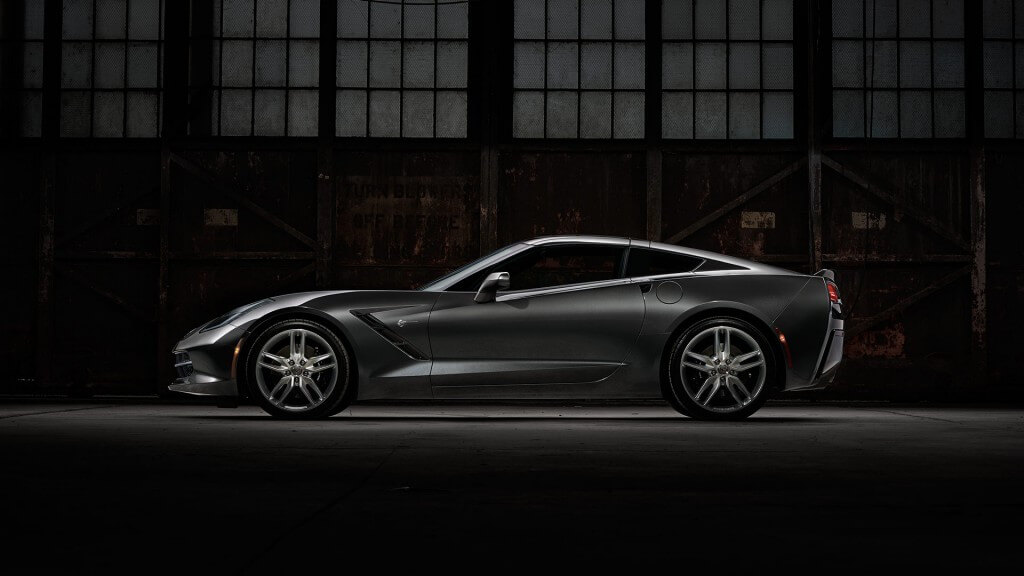 2017 Chevrolet Corvette Stingray side view