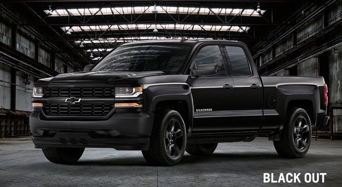 Chevrolet Silverado Black Out
