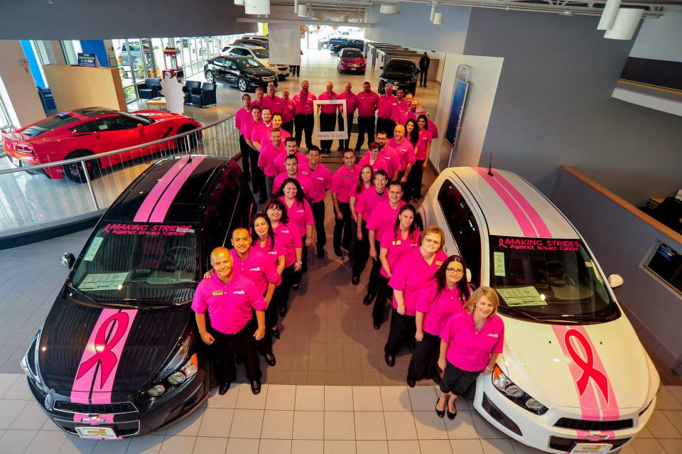 Sunrise Chevrolet Team Supporting BCA