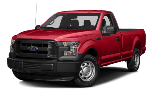 2017 Ford F-150 red exterior