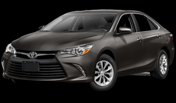2017 Toyota Camry black exterior