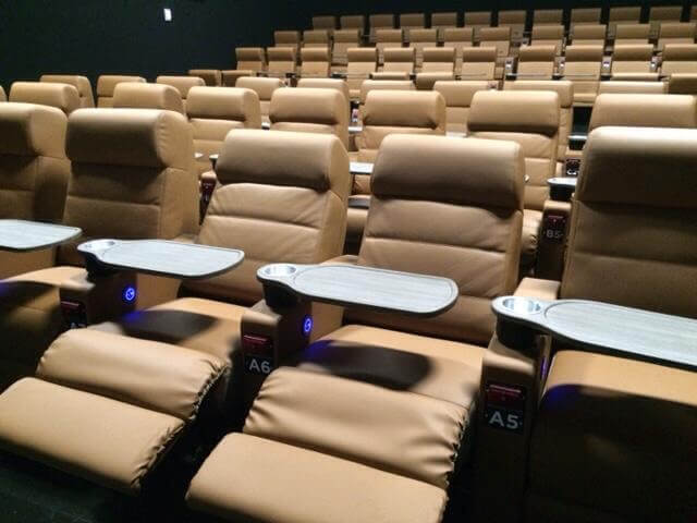Studio Movie Grill comfortable seating