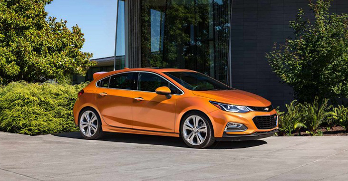 2017 Chevrolet Cruze Hatch Garber