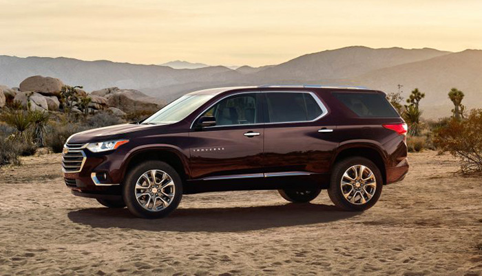 Worth The Wait The New 2018 Chevy Traverse Garber Sunrise Chevrolet