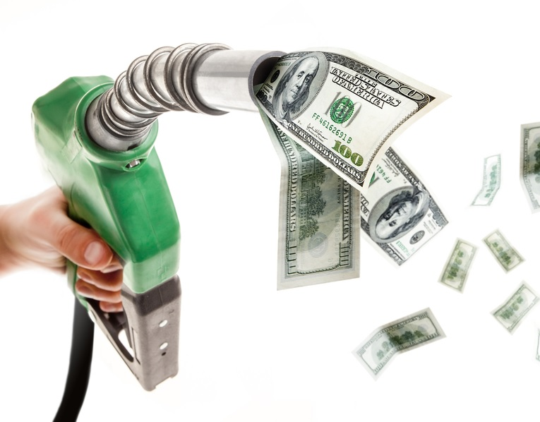 Saving at the pump