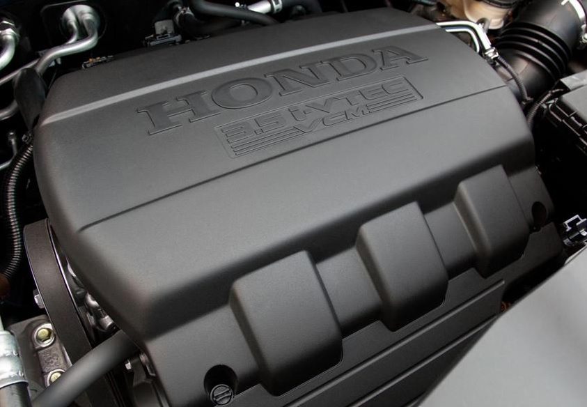Engine of a Honda