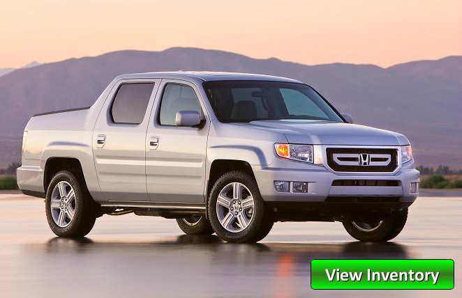 used Honda ridgeline on a Milwaukee road