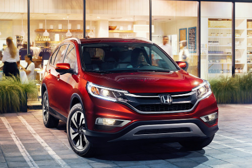 2016 Honda CR-V Parked In The Driveway