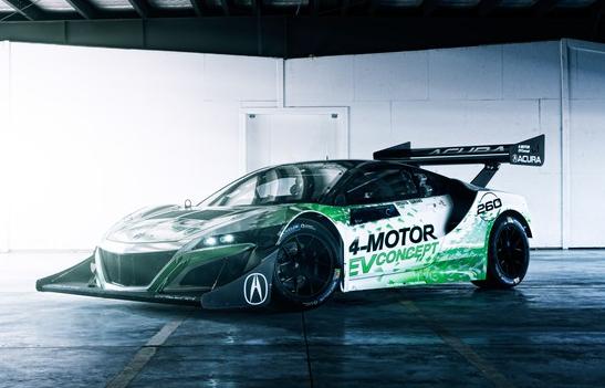 Honda's electric race car