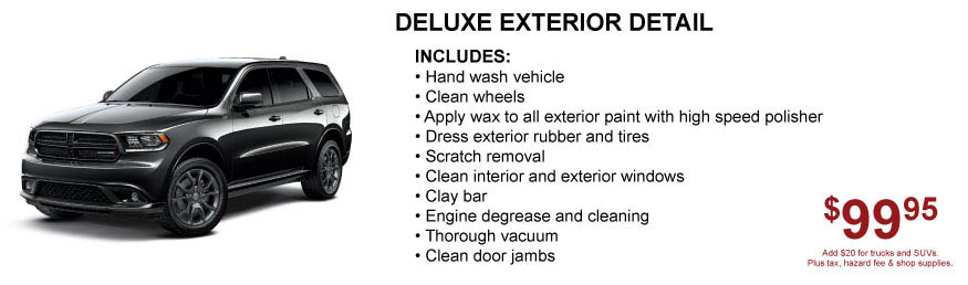 Car Detail Offer Tacoma Dodge Washington