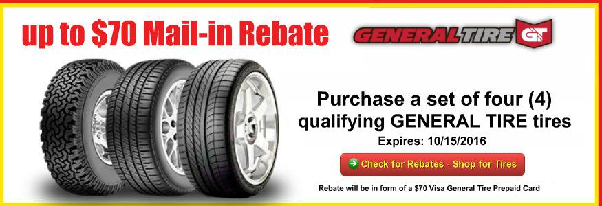 Tacoma Tire Sales General Tire Rebates