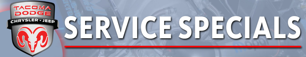Tire Sales and Service Specials for cars in Tacoma, WA   Tacoma Dodge Chrysler Jeep Ram
