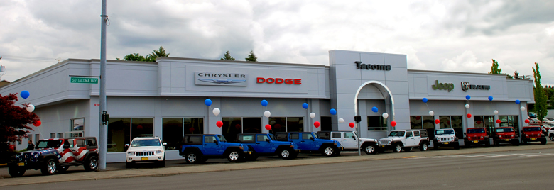 Dodge And Used Car Dealer Federal Way Tacoma Dodge Chrysler Jeep Ram - Jeep chrysler dealerships
