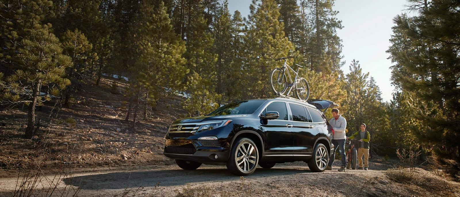 2016 Honda Pilot By Trees
