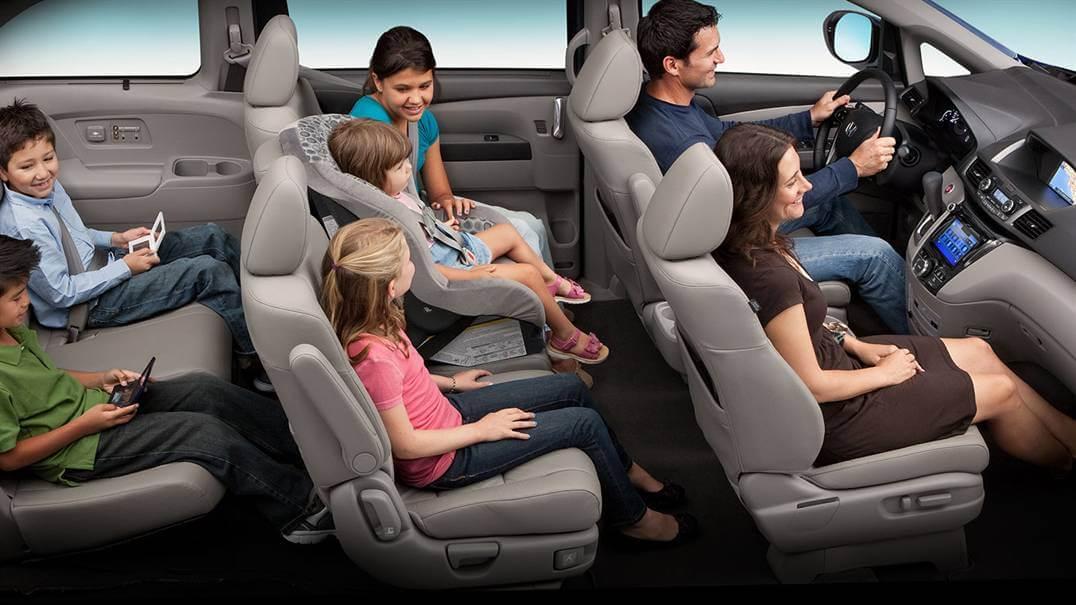 2017 Honda Odyssey interior cabin